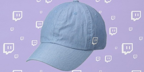 Twitch Glitch Emote Chambray Hat Only $5 on Amazon | Great Stocking Stuffer Idea for Dad