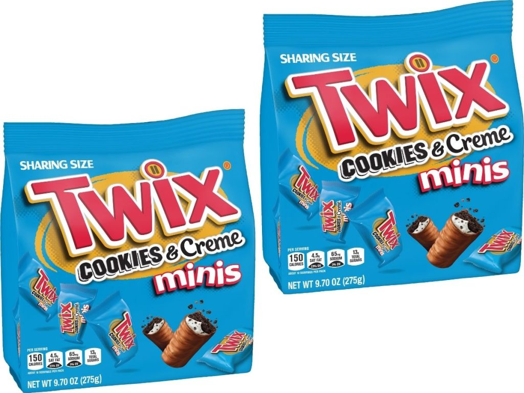 Twix Cookies and Creme Minis Candies