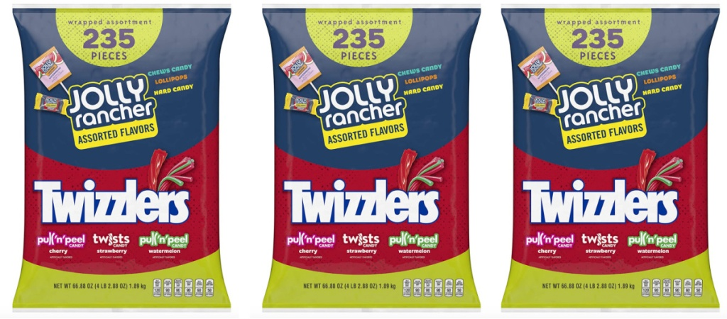 Twizzler and Jolly Rancher Candies