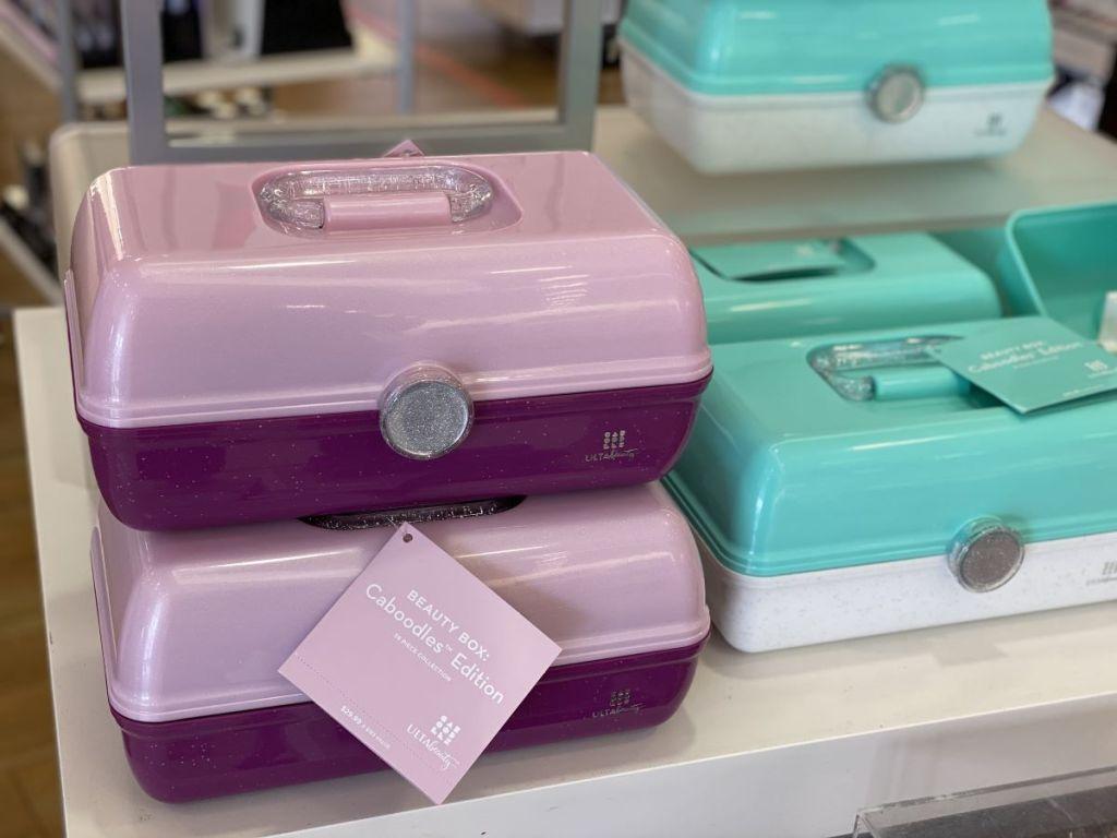 ULTA Beauty Box Caboodles on a shelf
