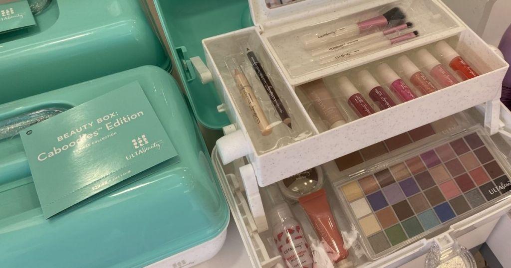 ULTA Beauty Box caboodle and cosmetics