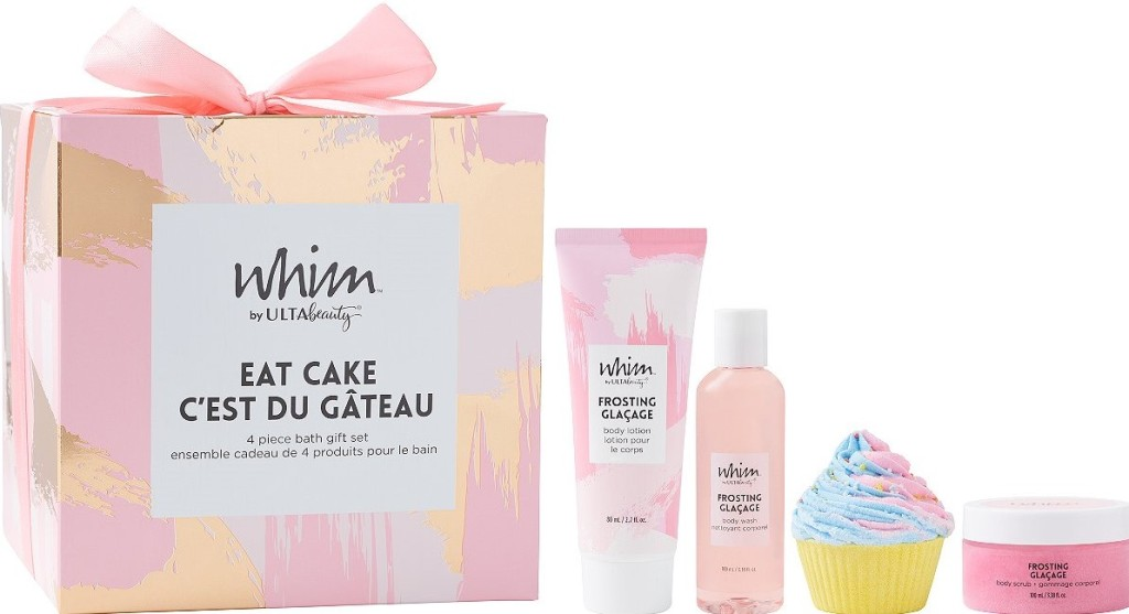 ULTA Beauty gift set with bath products