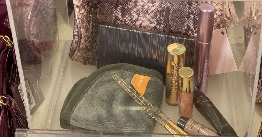 ULTA Beauty cosmetics and bag