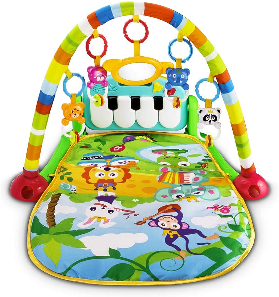 UNIH baby playmat with piano