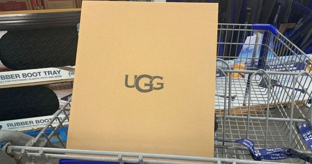 UGG Boots Box in Shopping Cart