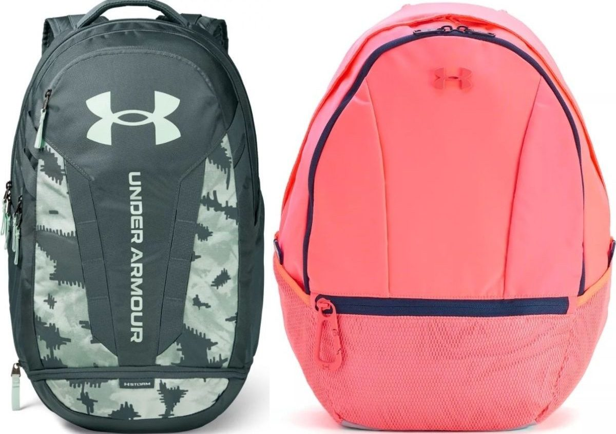 Two under armour backpacks
