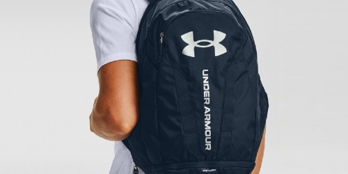 Under Armour Hustle 5.0 Backpacks Only $22 on Amazon (Regularly $55)