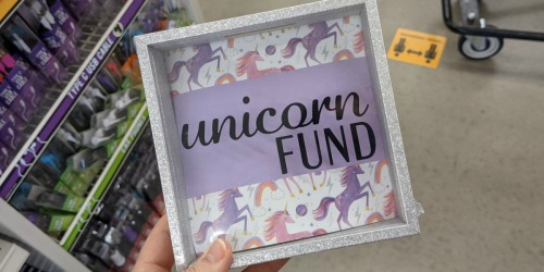 Trendy Shadow Box Banks Just $1 At Dollar Tree