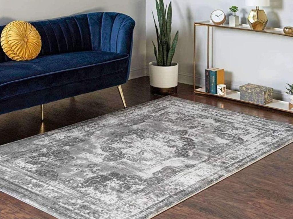 Unique Loom Gray Area Rug