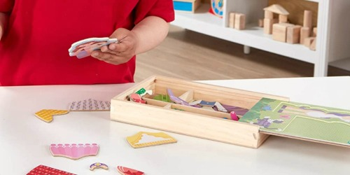 Melissa & Doug Magnetic Wooden Dolls Play Set Only $6.99 on Amazon (Regularly $13)