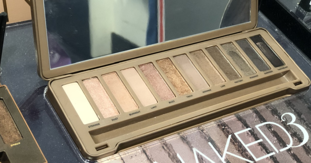 Urban Decay Eyeshadow Palettes Naked3