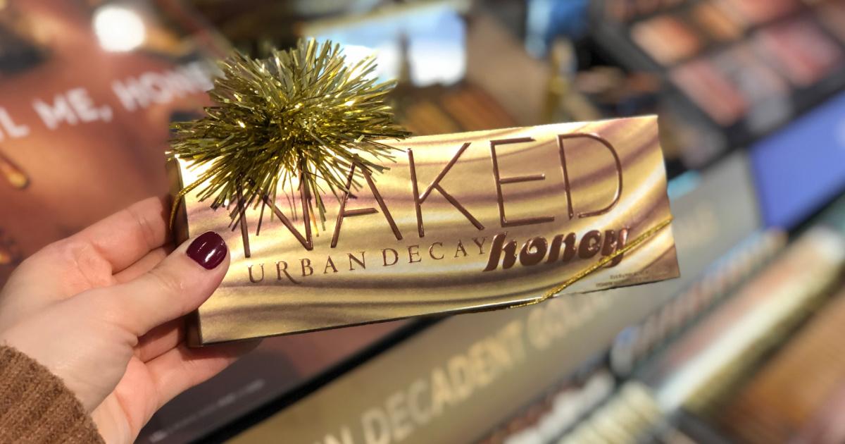 urban decay naked honey palette