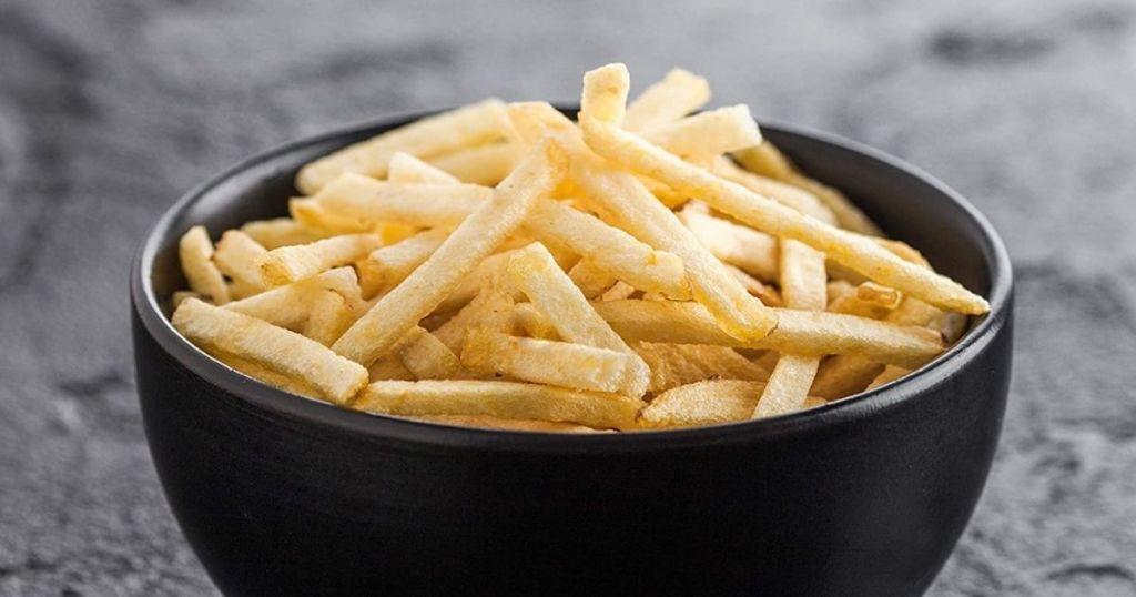 bowl of Utz Potato Stix