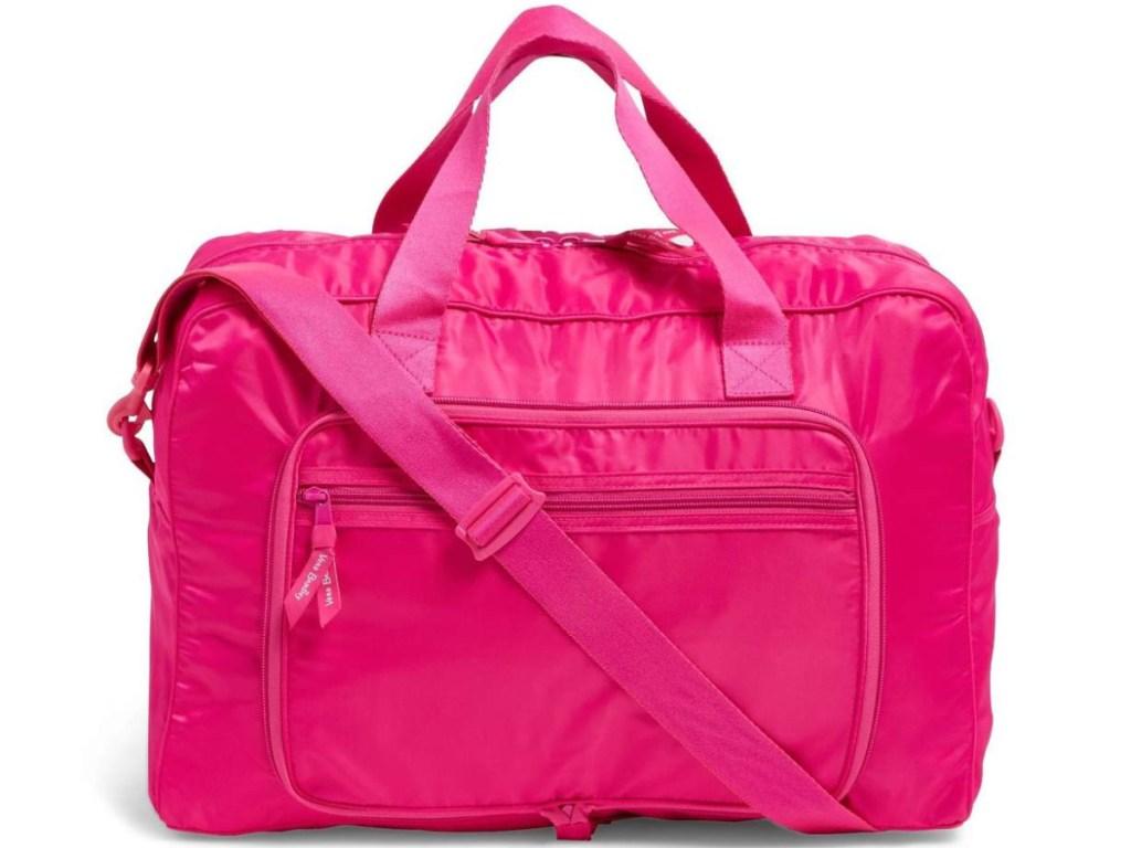 pink traveler bag