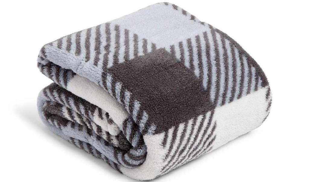 Vera Bradley Plush Sparkle Blanket