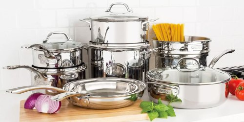 Viking 13-Piece Cookware Set Just $199.98 on SamsClub.com (Regularly $270) | Includes Lifetime Warranty