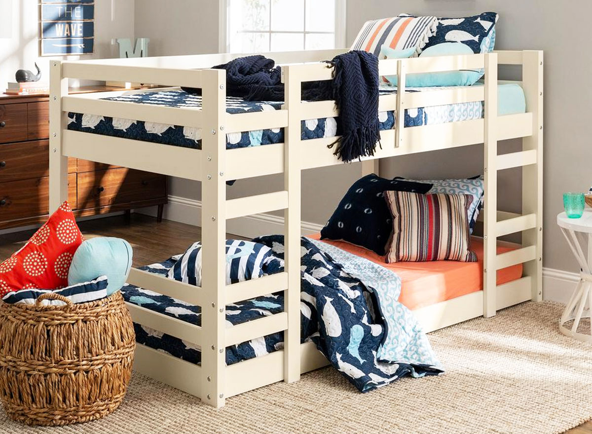 Twin Size Wooden Loft Bed Just 162 99 Shipped On Homedepot Com Regularly 246 Hip2save