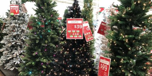 Pre-Lit 6.5′ Christmas Trees Only $39 on Walmart.com | Hundreds of 5-Star Reviews