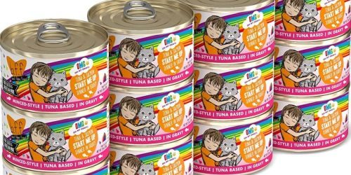 Weruva B.F.F. 2.8oz Grain-Free Wet Cat Food 12-Count Packs from $6 Shipped on Amazon (Regularly $14)