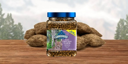 Blue Buffalo Crunchy Cat Treats 12oz Container Only $5.87 Shipped on Amazon