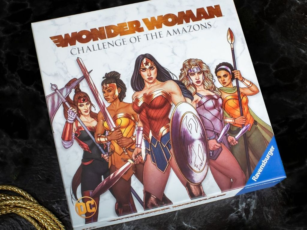 Ravensburger Wonder Woman Challenge of the Amazons Game