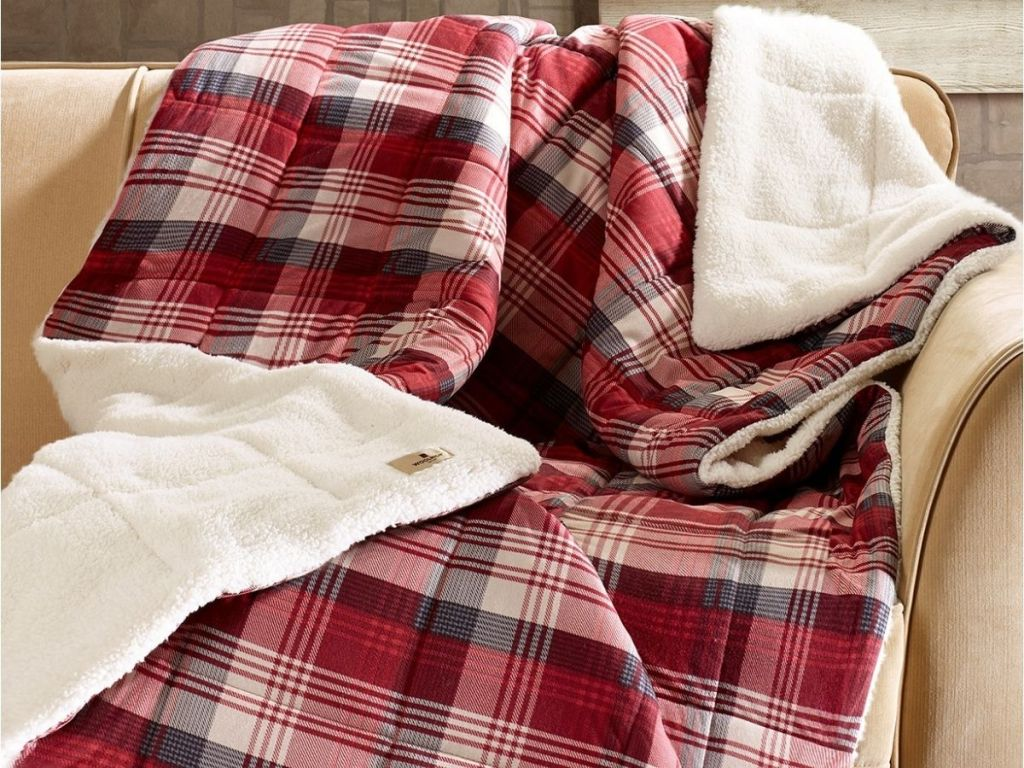 Woolrich Reversible Throws
