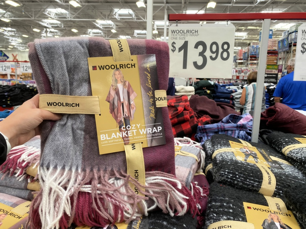 Woolrich Women's Textured Wrap at sam's club
