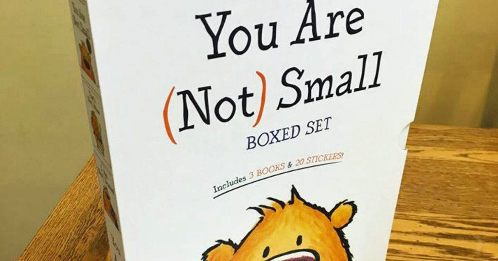 you are not small children's books boxed set