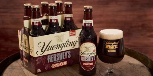 Yuengling Hershey's Chocolate Porter Now Available in Stores for a Limited Time