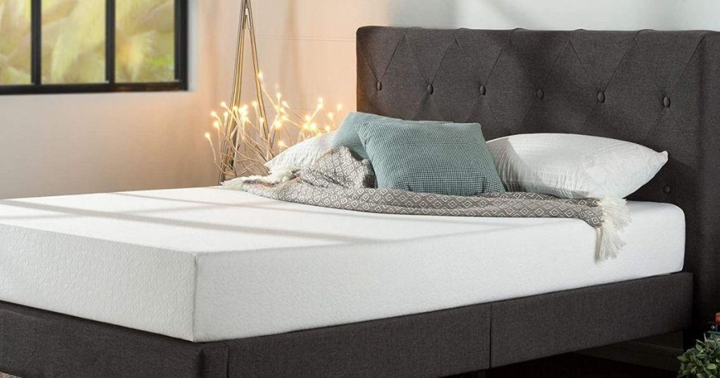 Zinus Shalini Platform bed in bedroom setting