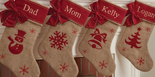 Personalized Christmas Stockings from $12.99 on Zulily | Tons of Styles Available