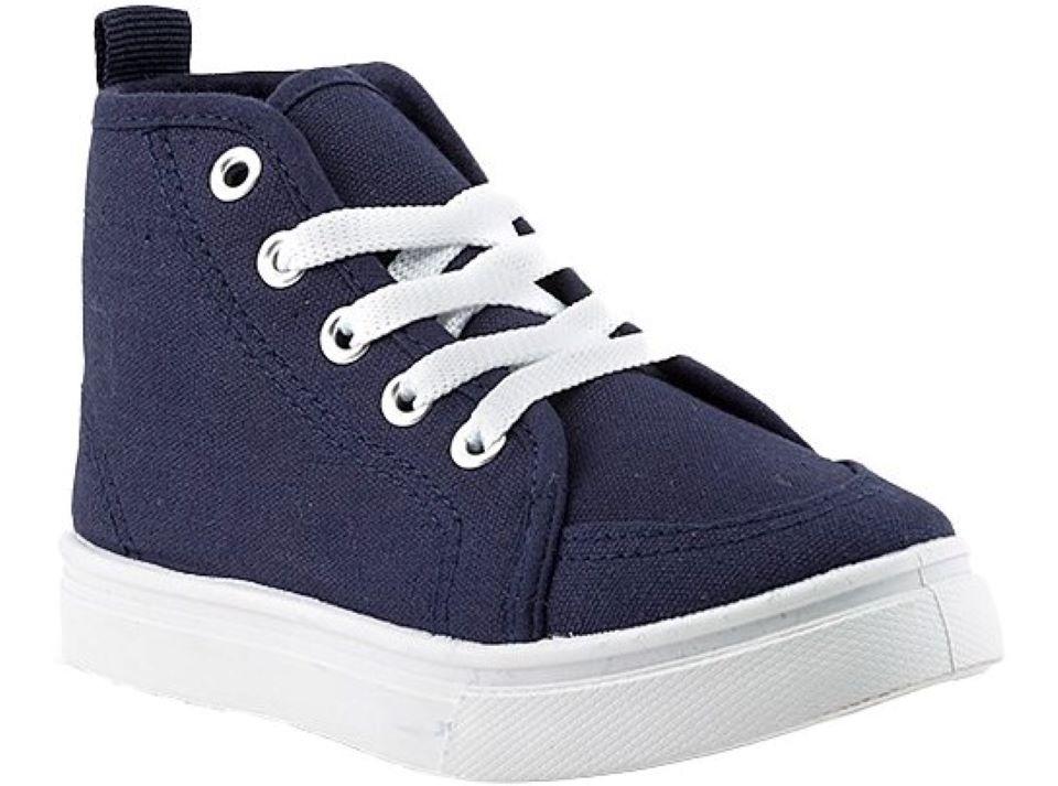 blue kids sneaker