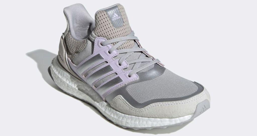 grey and purple adidas ultraboost