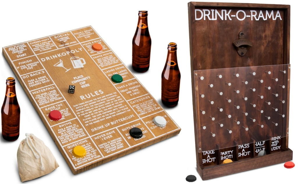 Drinkopoly and Drink-o-Rama board game