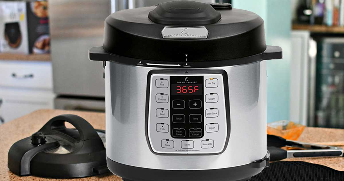 emeril airfryer and pressure cooker