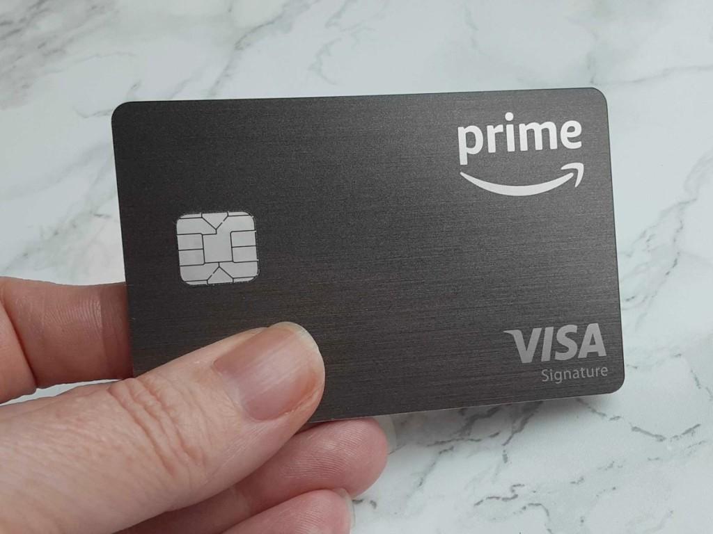 holding Amazon Prime credit card