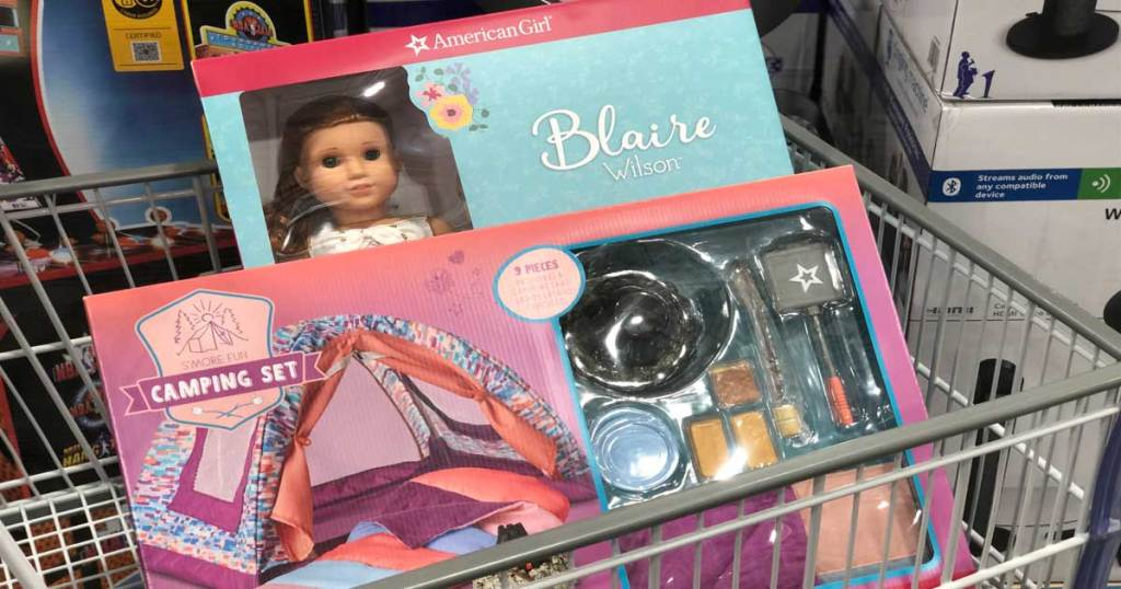 American Girl Camping Set and Blair Doll