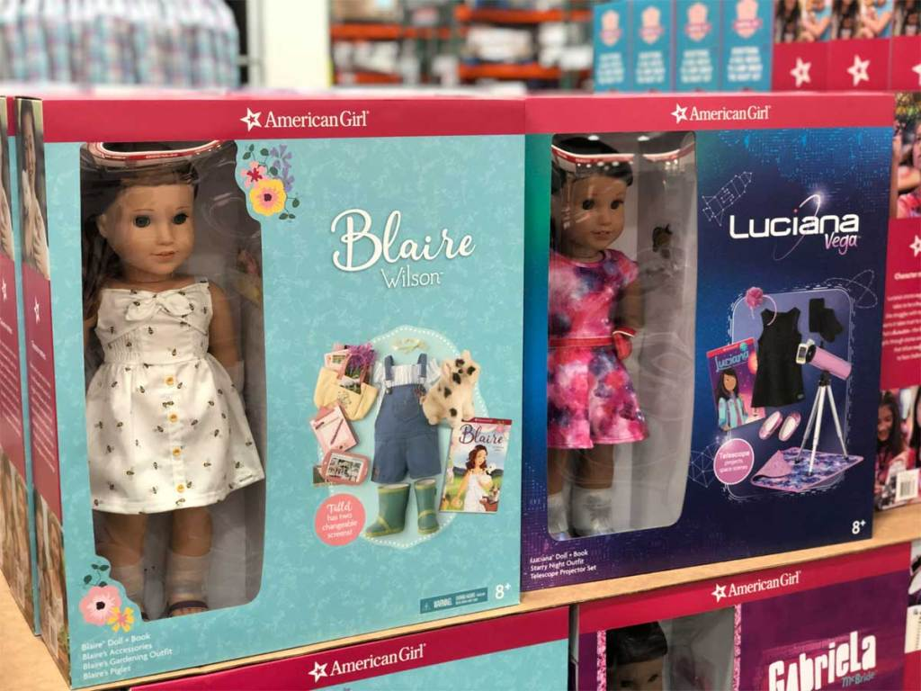American Girl Doll Sets from Costco