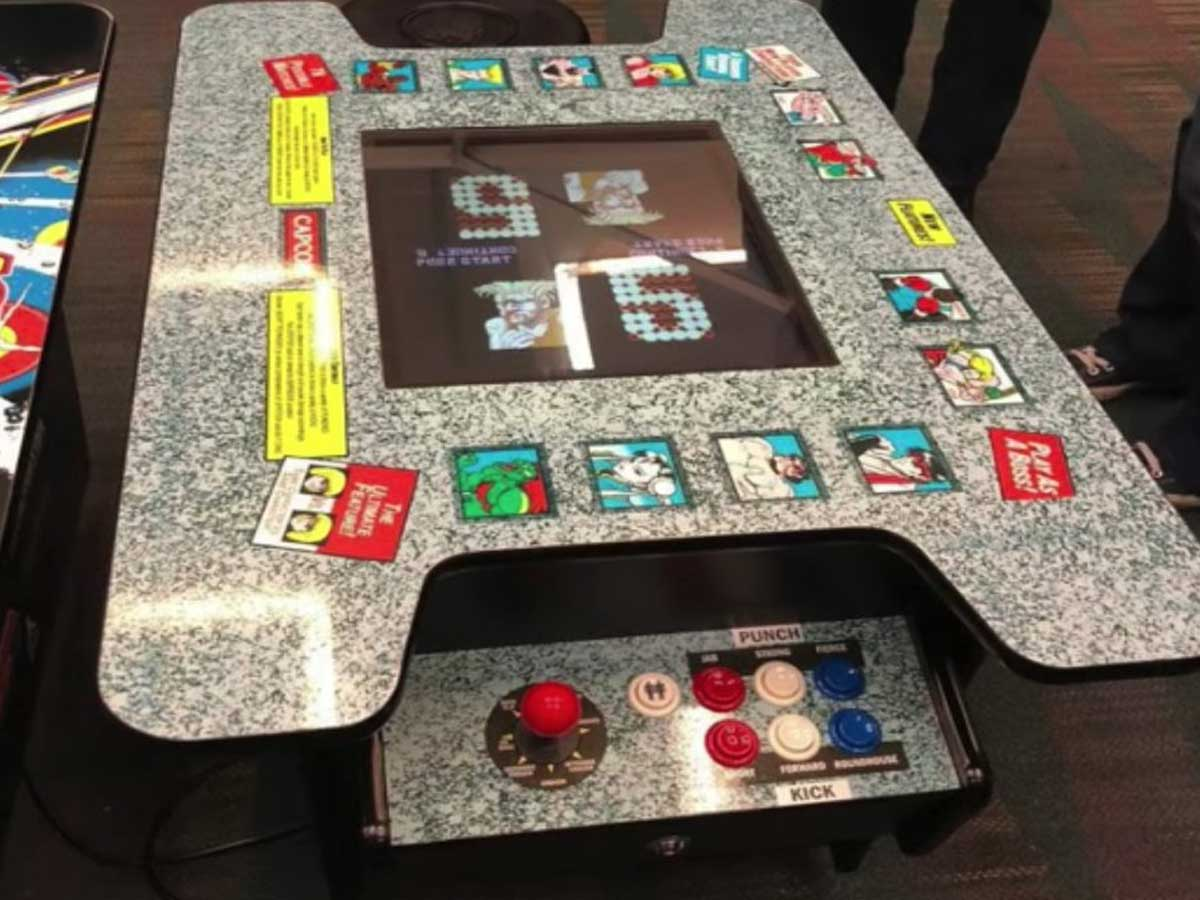 arcade game table