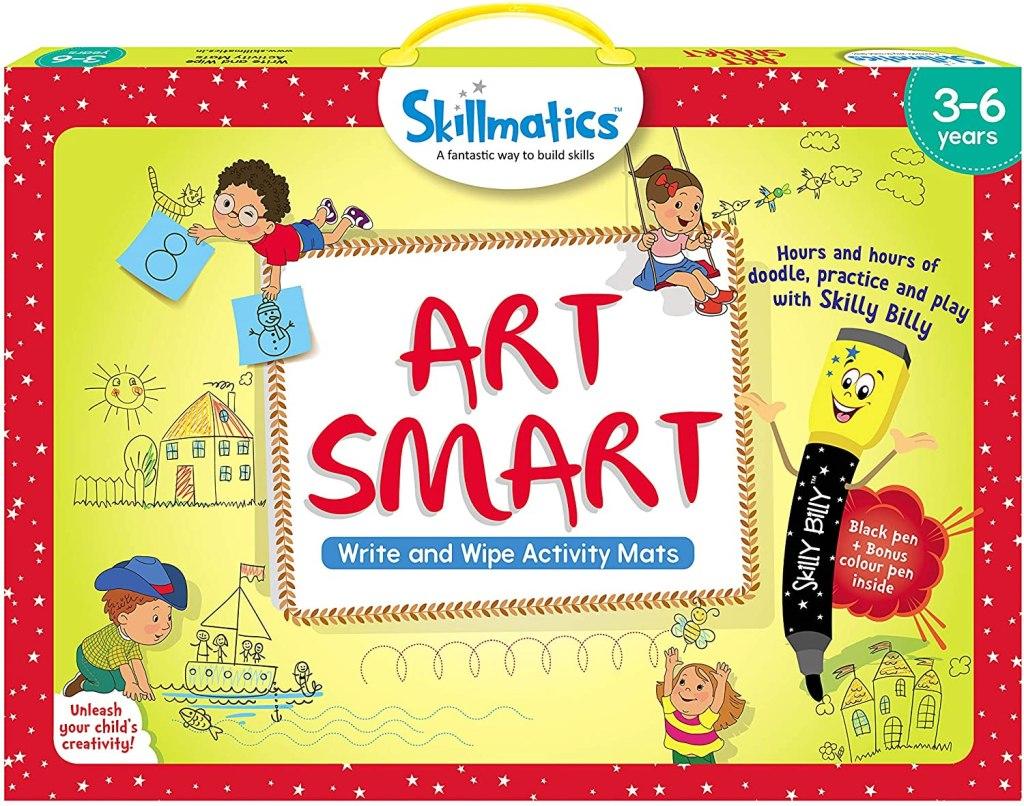 art smart skillmatics game in box