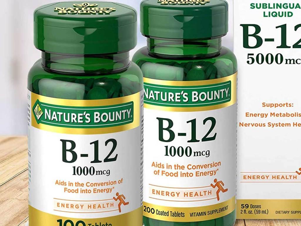 bottles of b-12