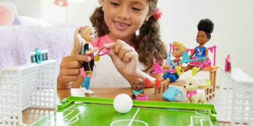 Barbie Chelsea Soccer Playset Just $10.61 on Amazon (Regularly $20)