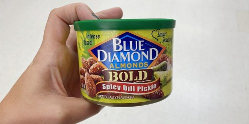 Blue Diamond Almonds 6oz Cans from $2 Shipped on Amazon