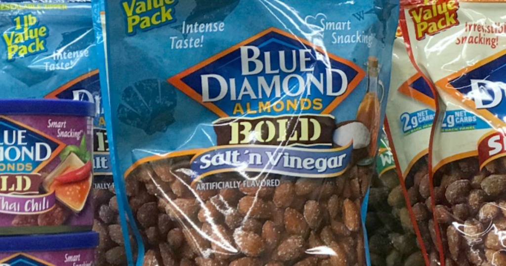Blue Diamond Almonds Bold Salt n Vinegar