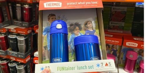 Thermos FUNtainer Lunch Set From $6.99 at Costco