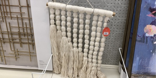 Target's Boho-Inspired Hanging Art Pieces Look Pricey but Start at Just $30