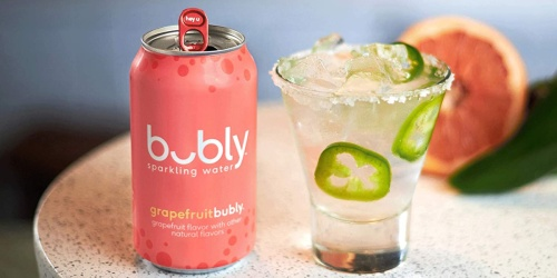 Bubly 12-Ounce Sparkling Water 18-Count Packs from $5 Shipped on Amazon | No Calories AND Keto Friendly