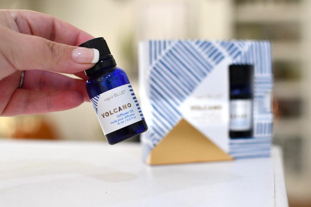 capril blue volcano scent
