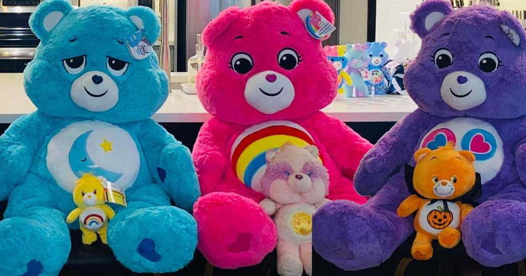 Message Recorder Stuffed Animals, Giant 36 Care Bear Cheer Bear Plush Only 34 99 Shipped On Costco Com Hip2save