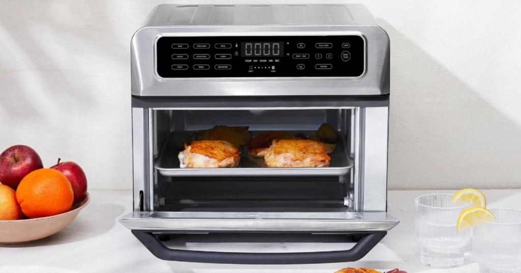 chefman air fryer on counter